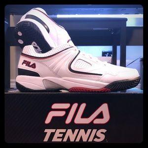 Fila Rovello Leather White Men's Tennis Shoes